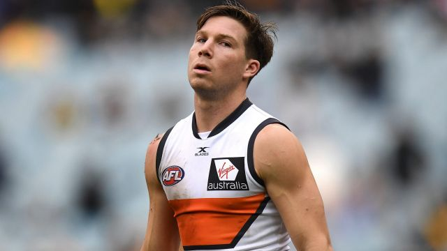 GWS Coach Leon Cameron says that Toby Greene thrives on opposition attention.