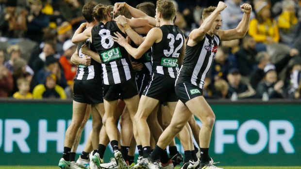 Pert resigns as Collingwood chief executive
