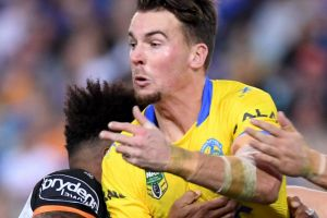 Not needed: Parramatta coach Brad Arthur fears fullback Clint Gutherson may out for an extended period.