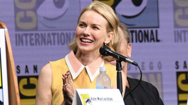 Naomi Watts was all smiles at the Twin Peaks panel.