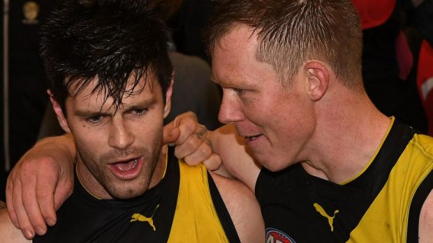 In his own way, Martin has developed into a leader who is just as valuable to the Tigers as Trent Cotchin and Jack Riewoldt.