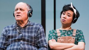 Playing against type: Jim Daly and Aileen Huynh in Hello, Goodbye and Happy Birthday.