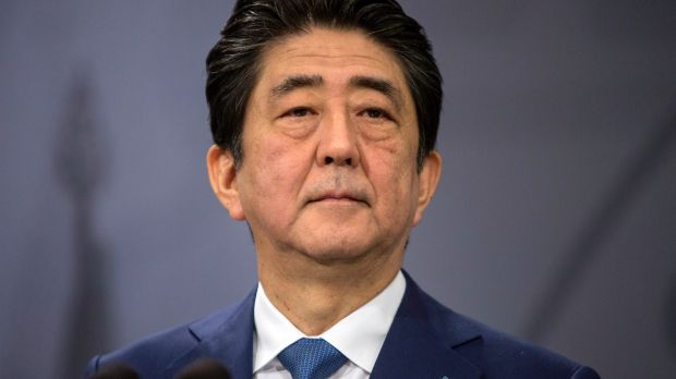 Abe denies abusing influence in Japan favoritism scandal