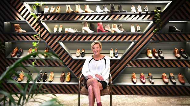 Anna Baird has just opened a new store in Melbourne's CBD but makes 40 per cent of sales online.