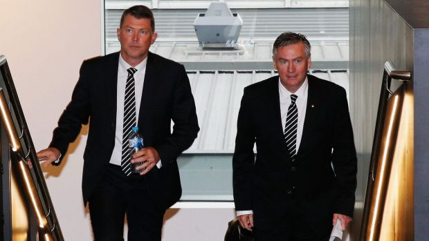 Gary Pert resigns as Collingwood CEO