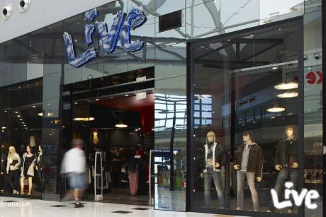 Live Clothing opened its first retail outlet in Perth's Murray Street Mall in 1994.