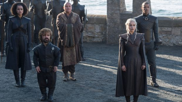 The fashion sure is 'directional' this season of Game of Thrones
