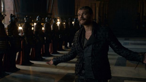 Euron Greyjoy, emo, suitor for Cersei, your worst boyfriend ever.