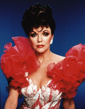 Joan Collins during her Dynasty days.