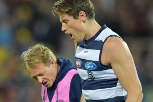 Mark Blicavs of the Cats