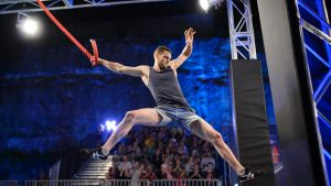 Rock climber Tom O'Halloran came second in <i>Australian Ninja Warrior</I>, with the TV finale attracting 3 million viewers.