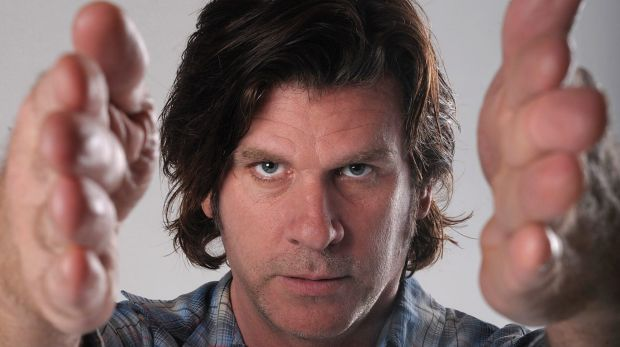 Rocker Tex Perkins talks about his memoir at the Giant Dwarf.