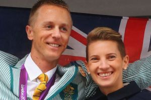 Jared and Claire Tallent: both named in the Australian team for the world athletics championships.