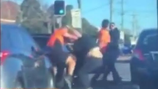 Ugly Road Rage Incident In Sydney's West