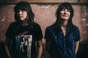 The success of Courtney Barnett (left) has created feelings of jealousy and admiration for her partner and fellow ...