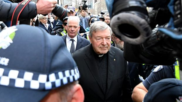 Senior Catholic Church member Cardinal Pell appears in court