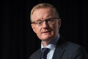Reserve Bank Governor Philip Lowe said the prospect of any wage growth soon was a 'low probability'.