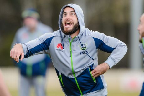 Raiders recruit Michael Oldfield knows he has big shoes to fill.