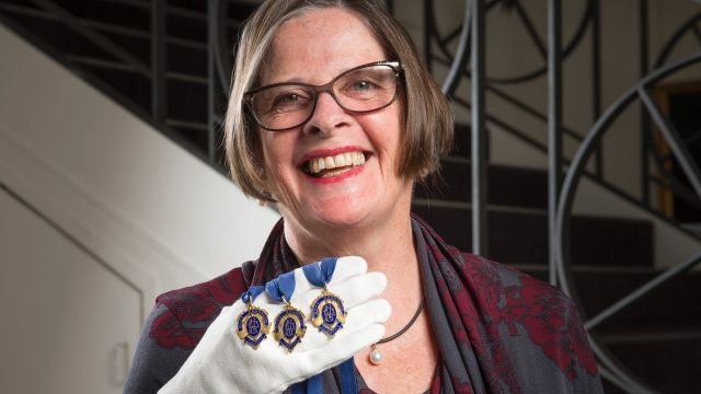 In her parents' will, Suzie Horman's brothers each got a Brownlow medal. She got a brooch.
