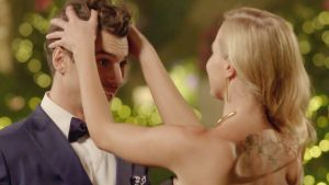 Just a gentle hair tussle on The Bachelor.