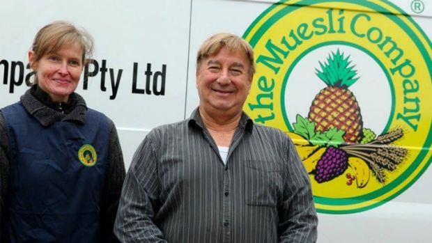 Peter Pavlis (right) has been charged with the murder of Jennifer Borchardt, his co-director at The Muesli Company.