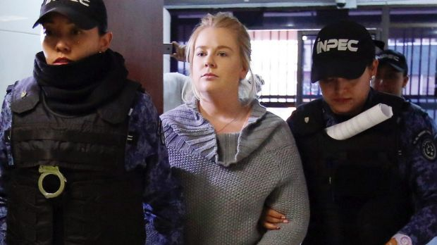Judge rejects Australian woman's drug plea deal in Colombia