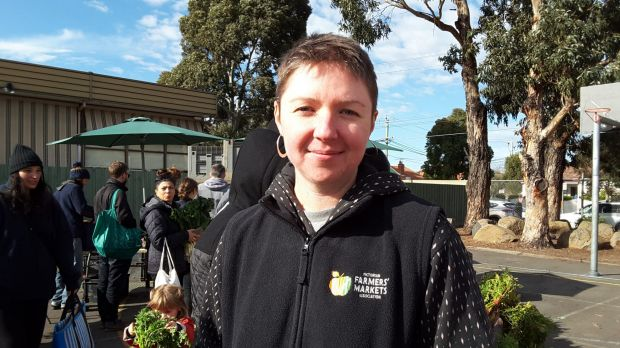 Victorian Farmers' Markets Association executive officer Kate Archdeacon believes there are few similarities between ...