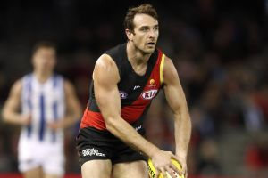 Jobe Watson is in the twilight of his career but still Essendon's second-most important player