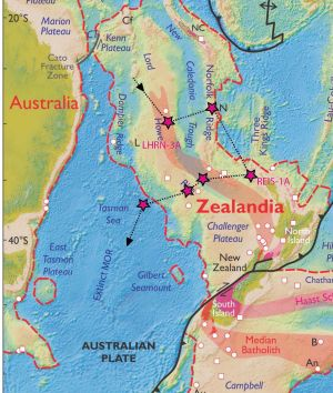 The ANU expedition will help solve the mysteries of the underwater continent.