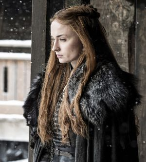 There's a darkness to Sansa Stark as the Lady of Winterfell.