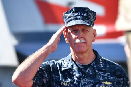 Commander of the Pacific Fleet, Admiral Scott Swift.