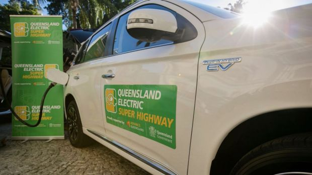 Queensland Electric Super Highway a world first for electric vehicles