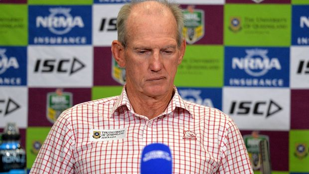 'He's given up drugs': Brisbane Broncos clarify James Roberts reference