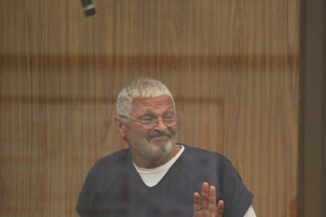 Nick Philippoussis appears at the San Diego court on Friday.