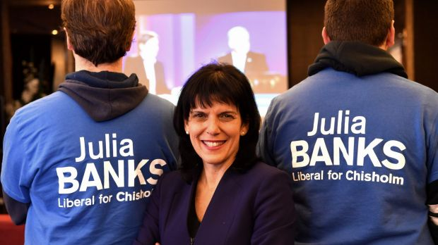 Julia Banks won the seat of Chisholm at the 2016 election.
