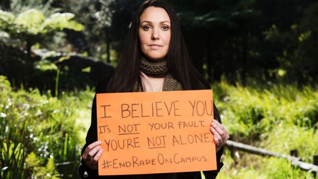 Nina Funnell, End Rape on Campus ambassador who has led the campaign against sexual assault on campus.