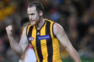 Jarryd Roughead will play his 250th game on Sunday.