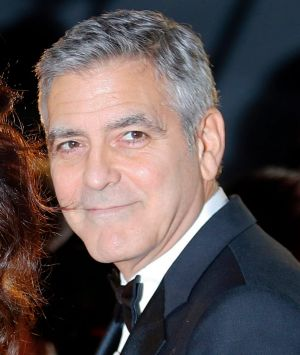 George Clooney and Amal Clooney arrive at the 42nd Cesar Film Awards ceremony at Salle Pleyel in Paris earlier this year.
