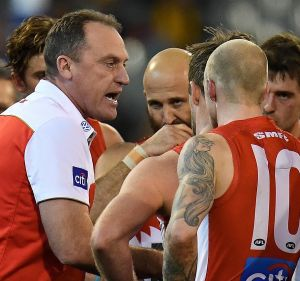 Fear factor: John Longmire brings an element of intimidation to his coaching