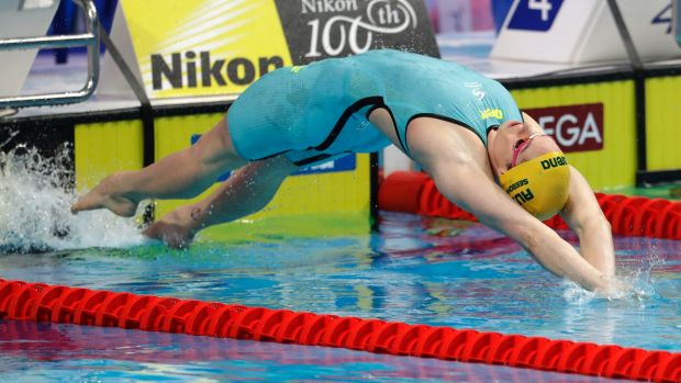 """Seebohm makes a splash with first gold"""""""