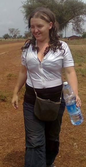 Bronwyn had been working for several years in Uganda.