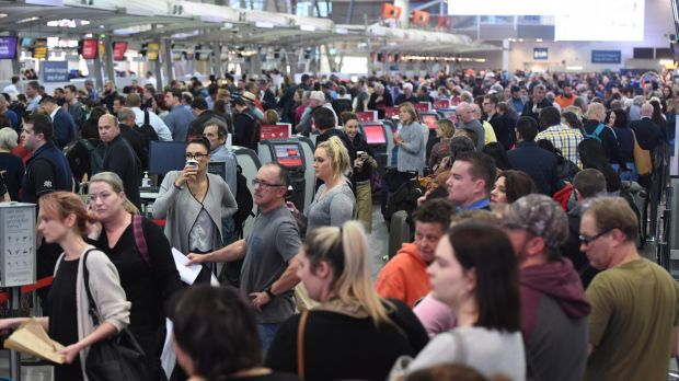 At the moment Australia's domestic air passengers aren't required to show photo identification to check in and board an ...