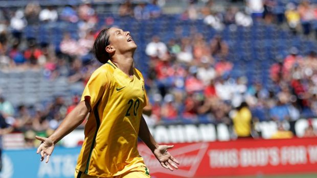 Sam Kerr makes history with four goals in epic win