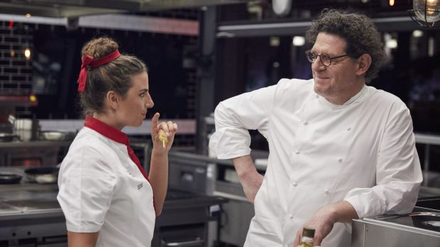 'The bar is set so low, it's impossible to fail,' Marco Pierre White, pictured with Olympian Jess Fox, declares. Oh ...