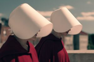 The Handmaid's Tale leads the current crop of screen dystopias.