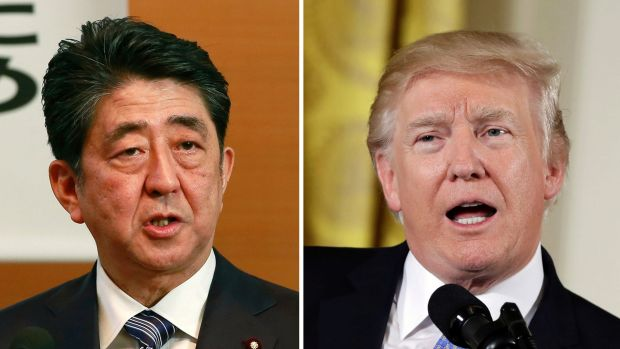 Japanese Prime Minister Shinzo Abe and US President Donald Trump spoke at the start of the month and agreed to take ...