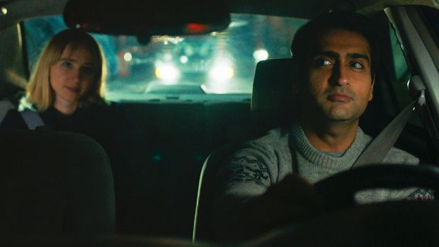 Kazan (left) and Nanjiani take the lead in romantic comedy 'The Big Sick'.