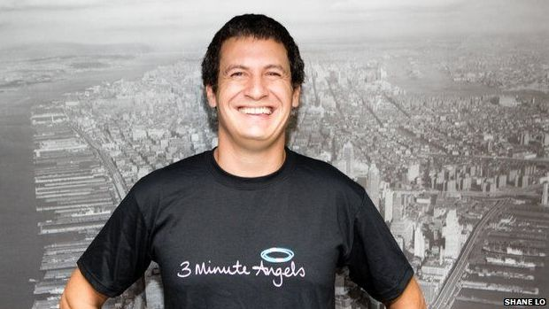 Andrew Ward is the founder of 3 Minute Angels, which provides mobile massages.