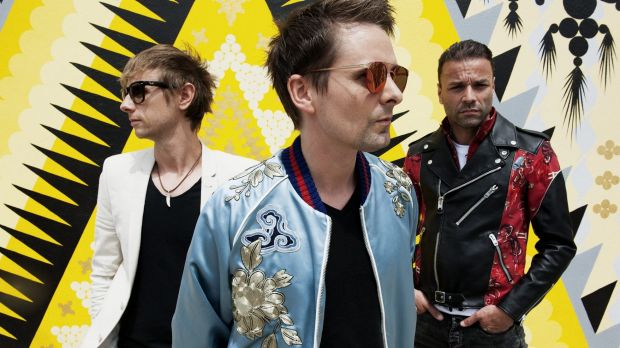 "Dominic Howard, left, says Muse ""is all about drive and passion""."