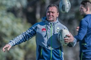 Raiders coach Ricky Stuart says they were trying to be the team everyone wanted them to be.